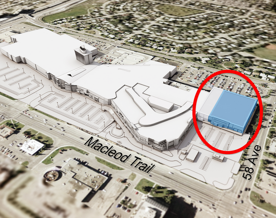 Nordstrom will occupy 140,000 sq ft of a former Sears store at the north end of Calgary's Chinook Centre. Photo: Nordstrom.