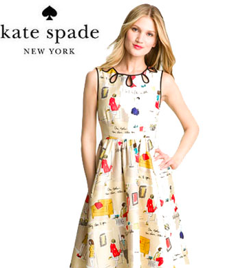 Nordstrom will be the only store in Calgary to carry Kate Spade's women's clothing line. Photo: Kate Spade
