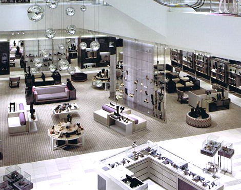 The store's women's footwear salon will be expanded substantially, including the addition of several designer shops-in-stores. Photo: Holt Renfrew.