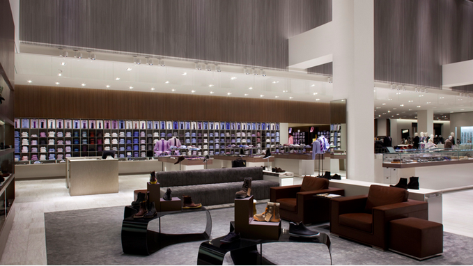 The store's menswear department will be expanded by about 40%. Photo: Janson Goldstein