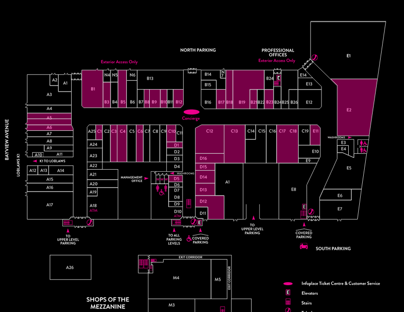Click this image  to link the mall's entire floorplan and store directory.