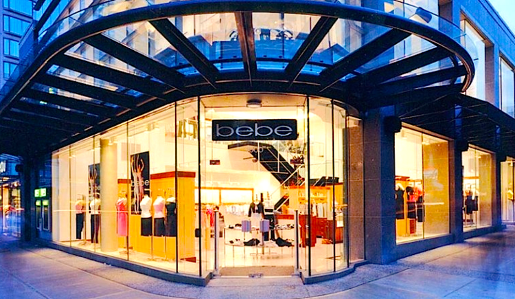 L'Occitane replaces a former Bebe store location at 1000 Robson Street. Photo:  CDC Construction