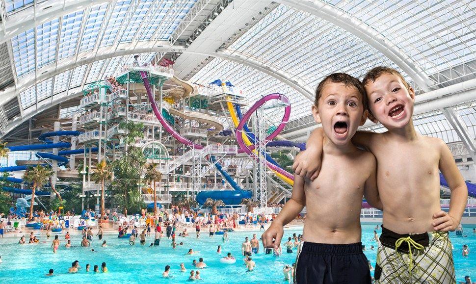 'World Waterpark'. Photo: West Edmonton Mall.