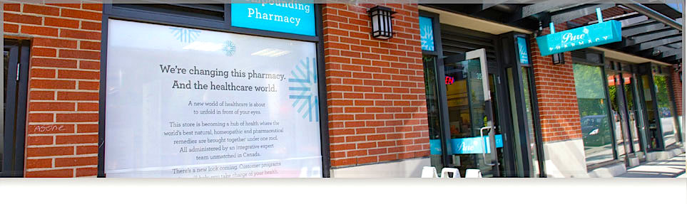 Photo:  Pure Integrative Pharmacy.