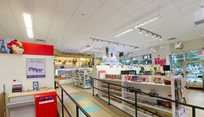 Canada Post is an added feature to the pharmacy portion of Pure Integrative Pharmacy. Photo:  Pure Integrative Pharmacy