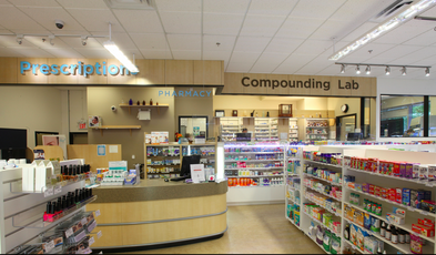 Pharmacy side. Photo:  Pure Integrative Pharmacy