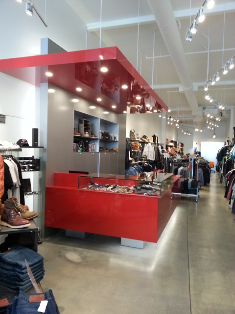 Inside the newly renovated Robson Street store. Photo: Boys'Co.