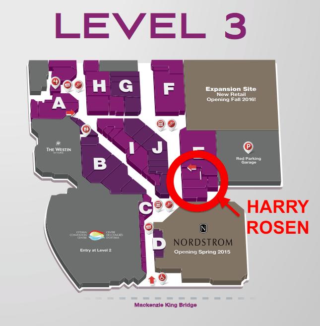 Click image  for entire Rideau Centre PDF mall floorplan.
