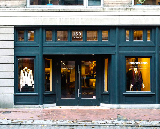 Indochino's new 4,350 square foot Vancouver store. Photo: Indochino, via Twitter.