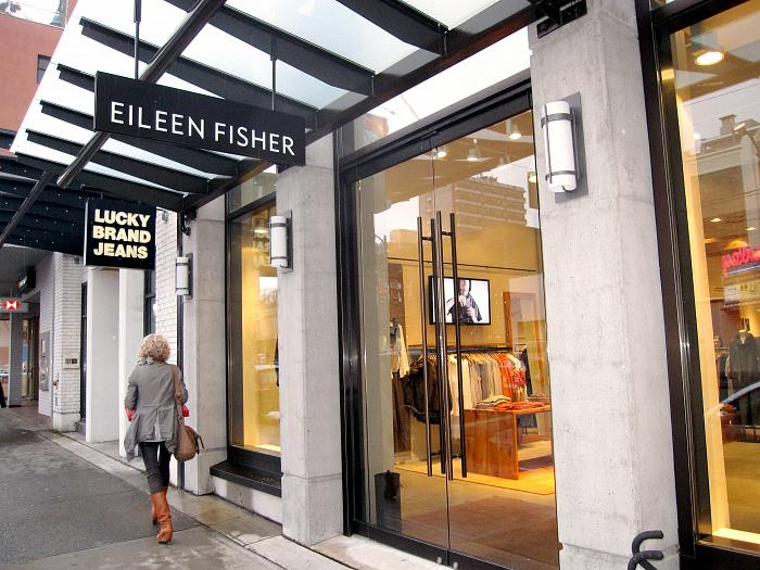 Eileen Fisher's first Canadian location opened in the summer of 2011 at 2721 Granville Street in Vancouver. Photo:   www.insidevancouver.ca