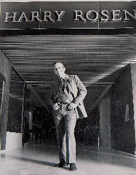Harry Rosen opened his second store in 1968at Toronto's Yorkdale Mall. Photo: Ottawa Citizen.