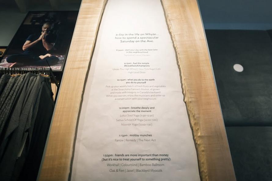 Live Edge Western Maple 'community board', designed by Alison Janzen, fabricated by Peregrine. Photo: Nicholas Yee.