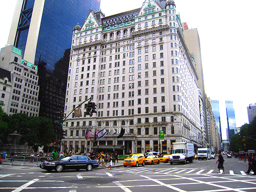 Sources say that several years ago, Holt Renfrew was looking to occupy retail space at the base of New York's Plaza Hotel. Photo: http://worldtravelntourism.info