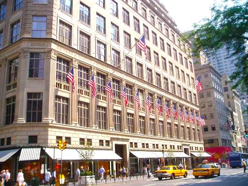 Saks Fifth Avenue's Manhattan flagship is worth an estimated $3.7 billion. Photo: www.nyc-architecture.com