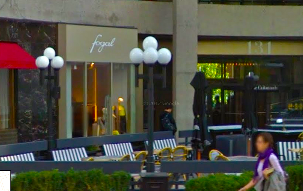 Photo: Google Street View screencapture.