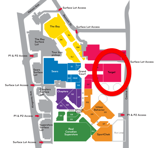 Metropolis at Metrotown. Click image above for interactive mall floorplan.