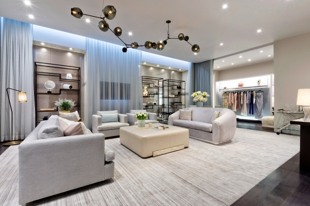 Luxury shopping 'Apartment' at Holt Renfrew. Photo: Janson Goldstein