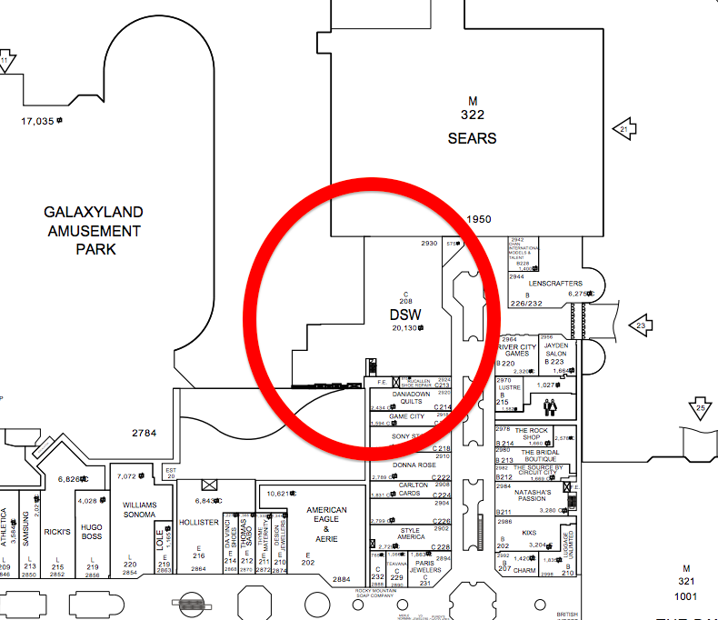 Lease plan via West Edmonton Mall.