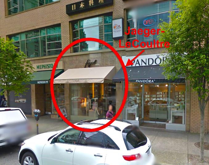 Vancouver location. Photo: Google Street View screen capture