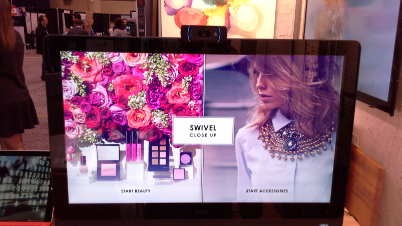 Beauty Bar – users can experiment with various types and combinations of cosmetics and accessories.