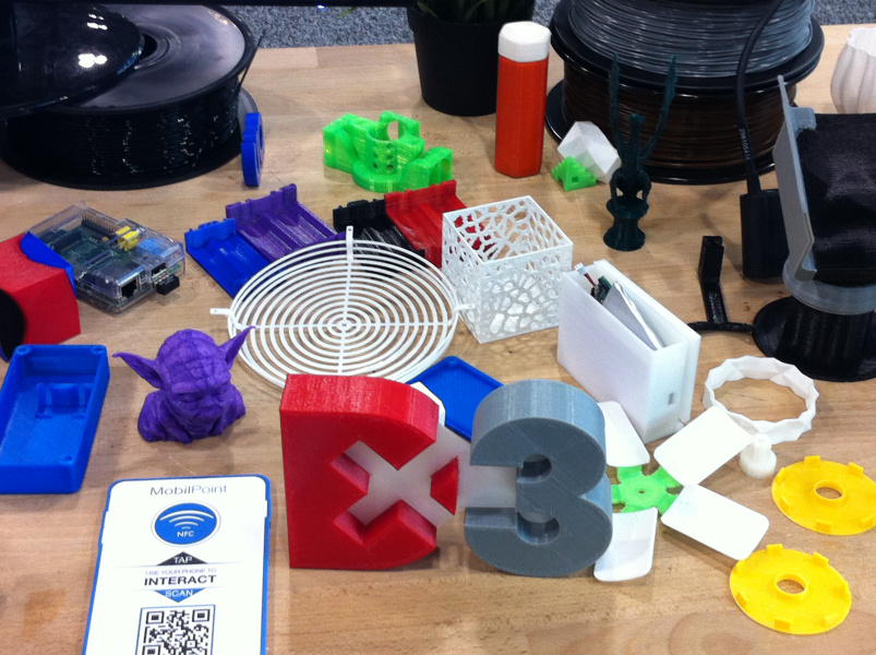3D-printed products