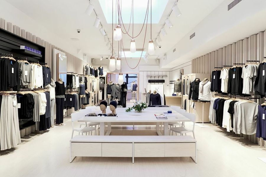 Nolita store in New York City. Mr. Wilson indicates that new flagships will reflect its store design. Photo: Kit and Ace