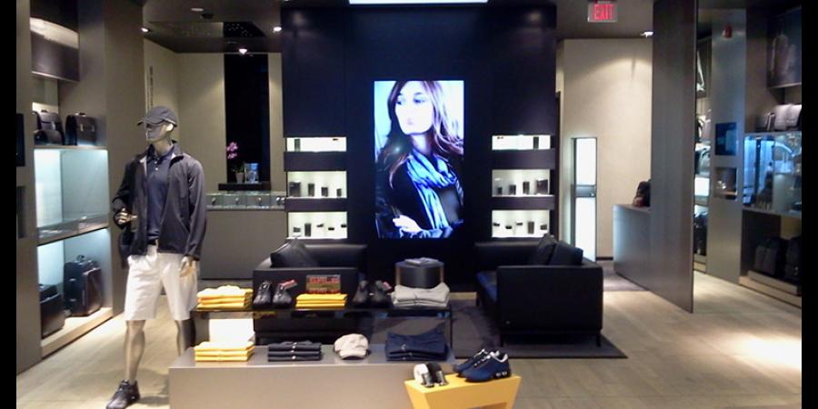 Inside the Toronto flagship. Photo:  l360arch.com
