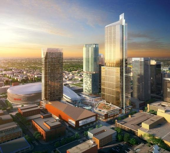 Edmonton Arena District is expected to include a grocery store. Source: Edmonton Arena District