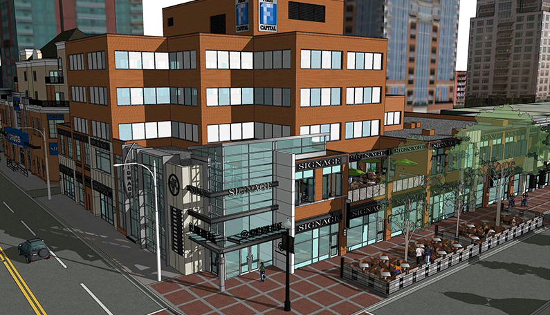 Rendering via First Capital Realty