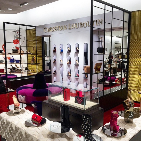 Christian Louboutin at Nordstrom, Chicago. Photo: Nordstrom via twitter.