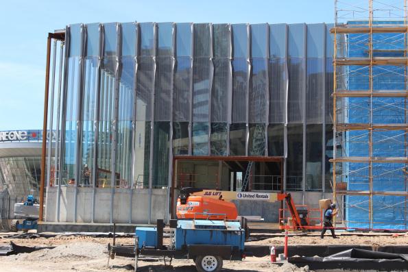 Holt Renfrew Square One Construction. Photo: Randy Selzer