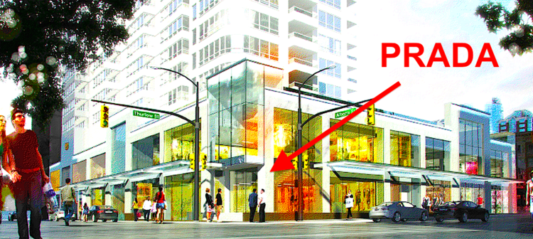 The Carlyle, Vancouver. Rendering - Concord Pacific