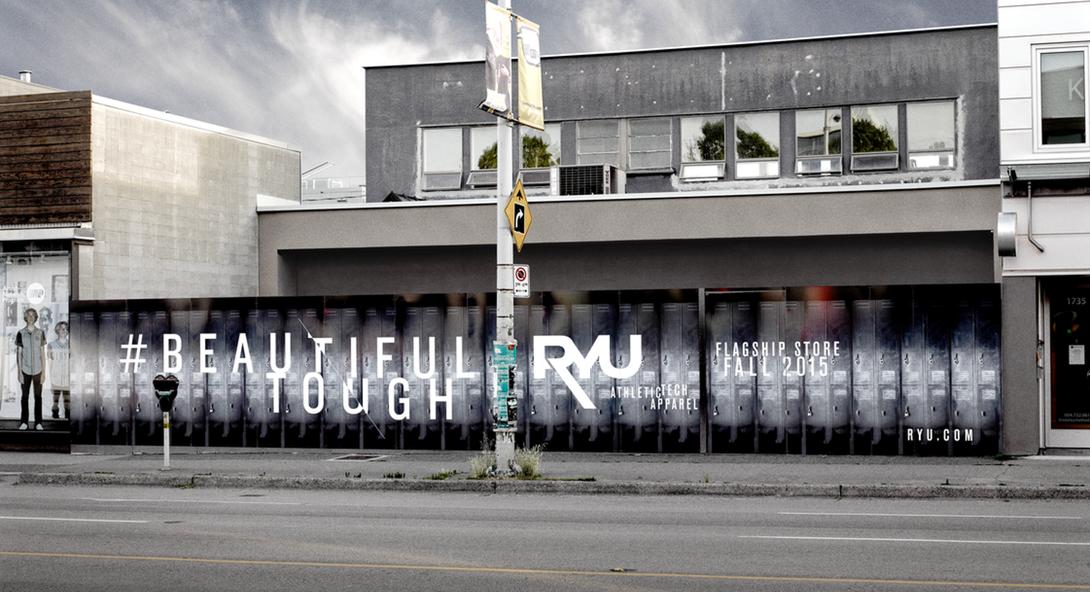 Vancouver flagship under construction. Photo: RYU