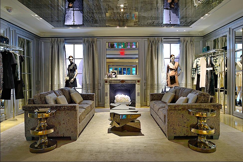 Second-floor salon. Photo: Christian Dior