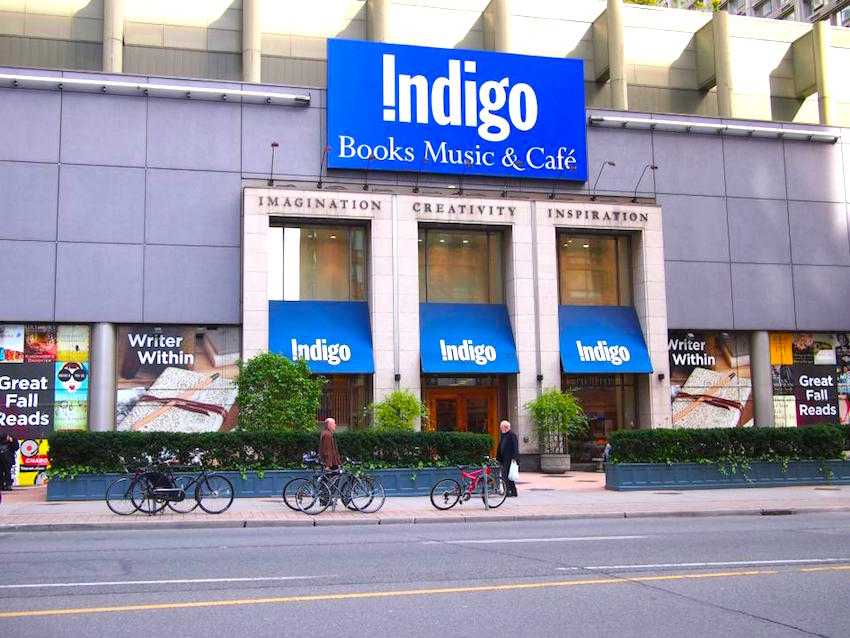 Photo: Indigo Books & Music