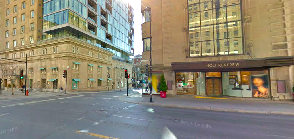 Tiffany on the left, and Holt's. Photo: Google Street View screen capture