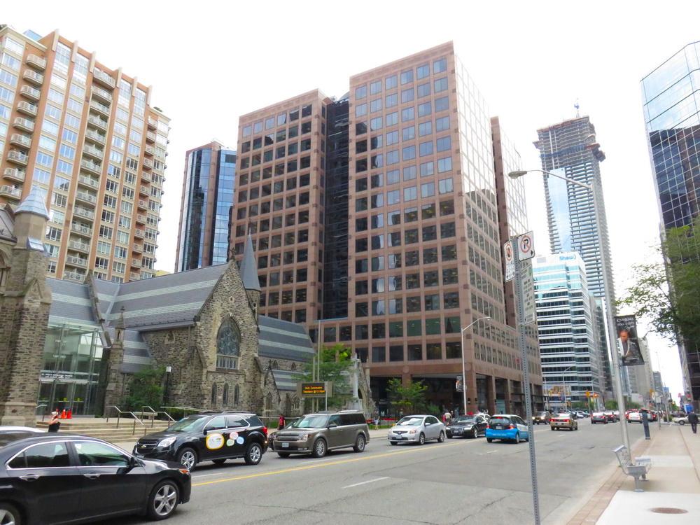 Bloor Street East, looking west towards Yonge Street