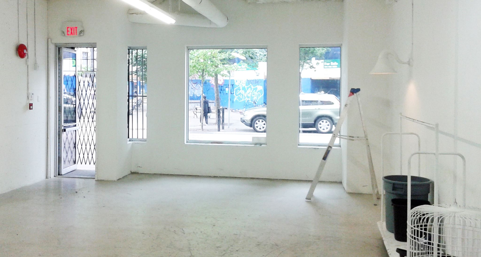 Inside the yet-to-be-finished space. Photo: Helen Siwak