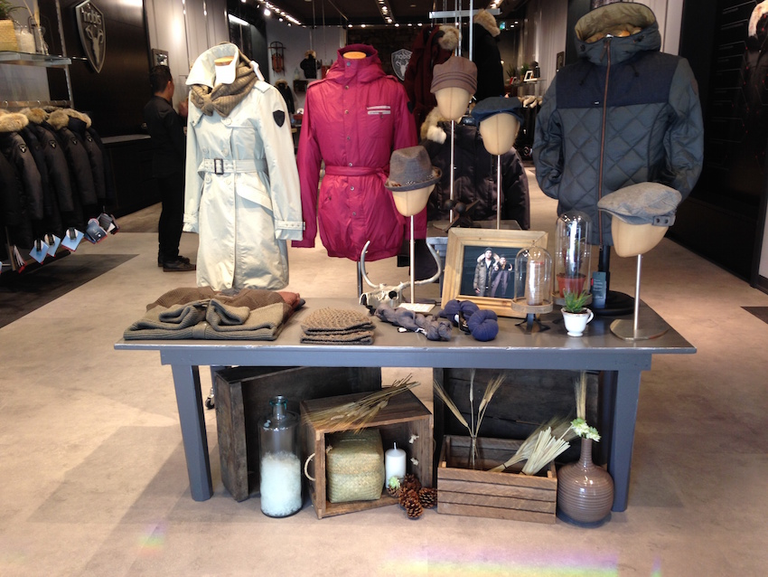Inside the new Toronto store. Photo: nobis