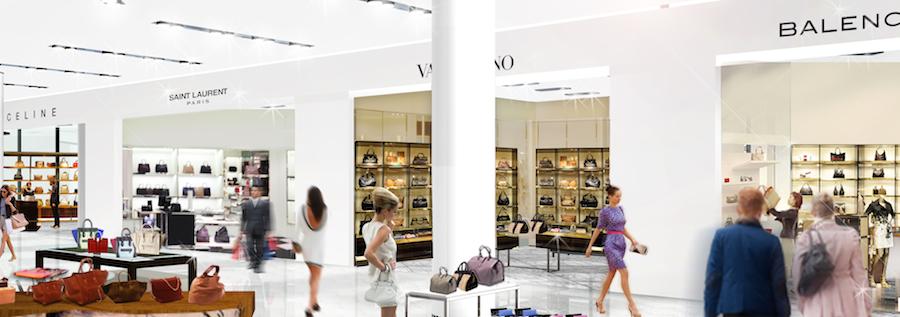 Ground floor accessories. Rendering: Nordstrom