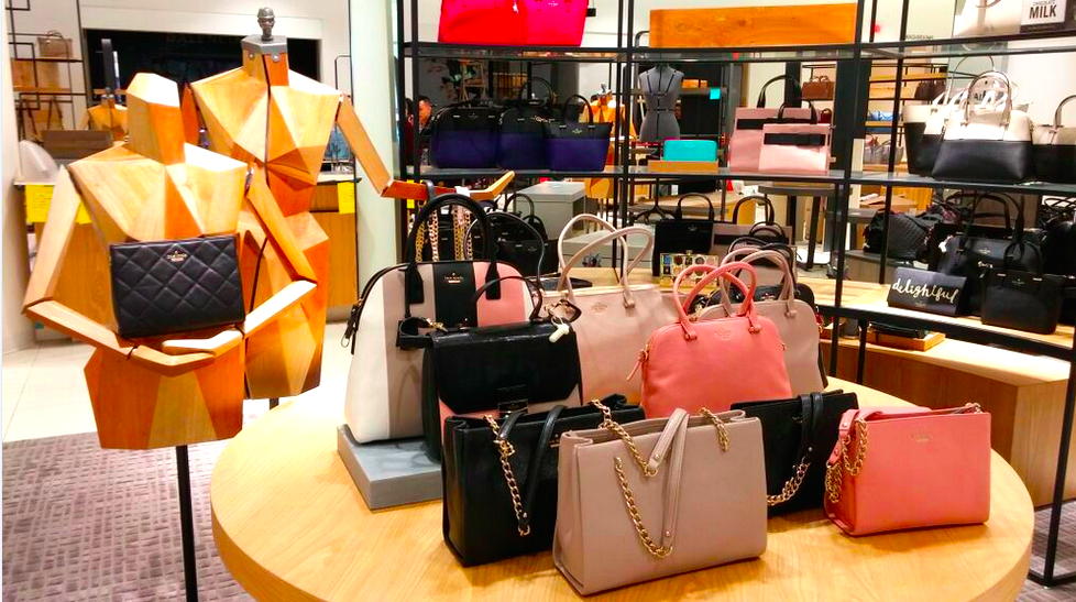 Handbags, ground floor. Photo: Helen Siwak