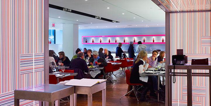 Café at Holt Renfrew, Montreal. Photo: Holt Renfrew