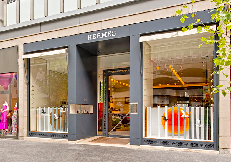 Current Hermes store at 130 Bloor Street West. Photo: Quadrangle