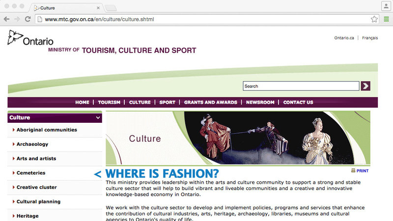 Petition Launched To Provide Fashion Designers Same Cultural Grants As Other Artists