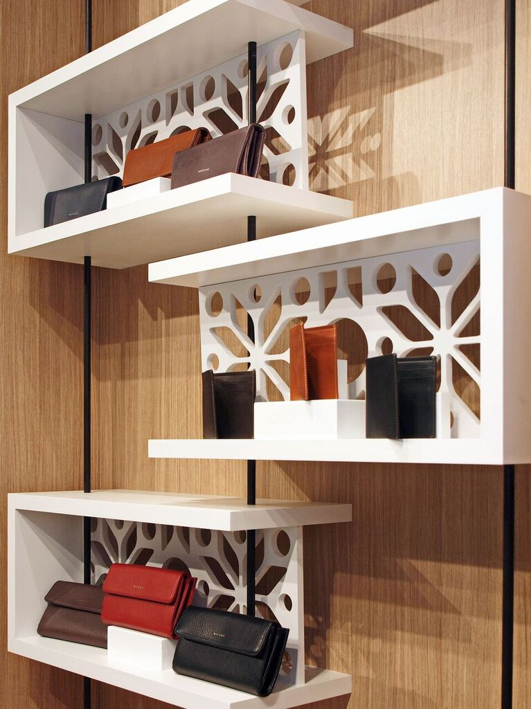 Display shelving. Photo:  Peregrine.Build