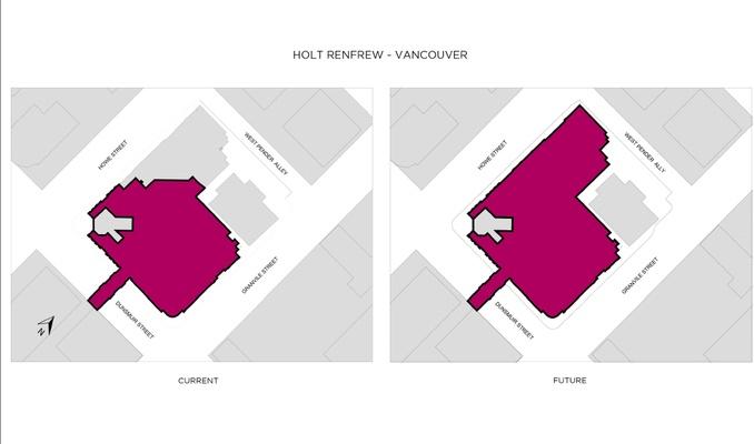 Holt Renfrew is expanding at CF Pacific Centre. Image: Holt Renfrew & Co.