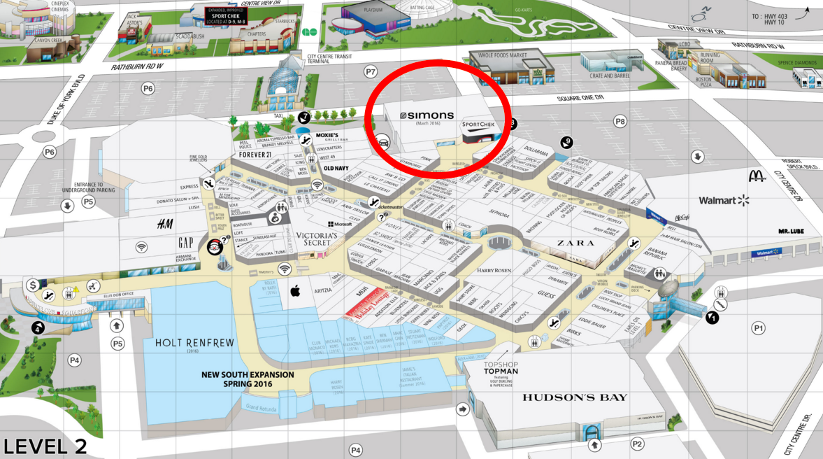 Click above image for full mall lease map.