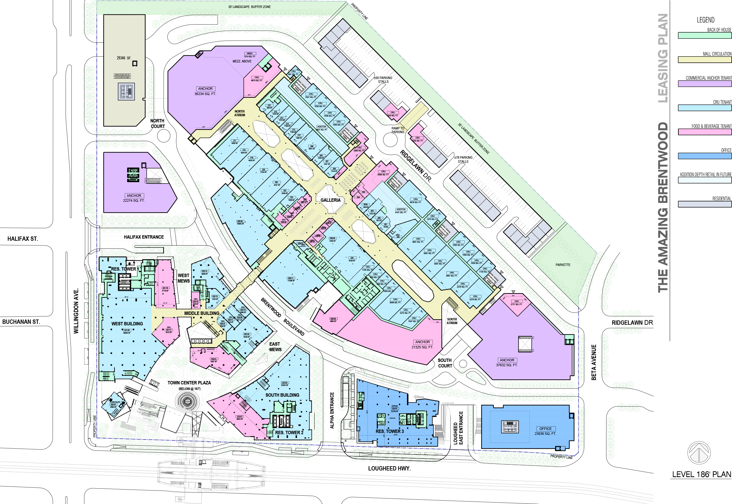 Second Level.Click above to be directed to multiple lease plans on Brentwood's website