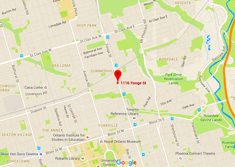 Click above map for interactive Google version