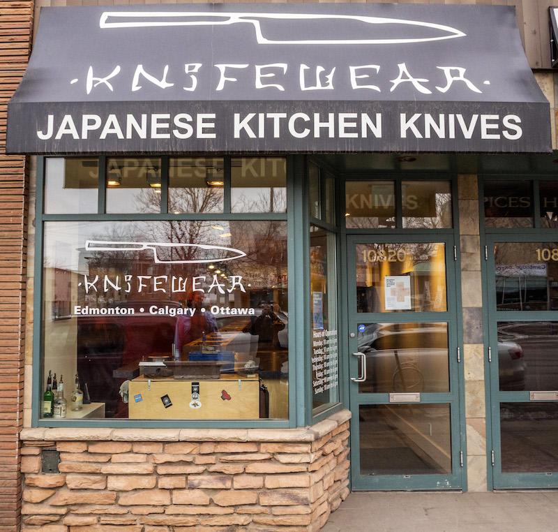 Edmonton Store. Photo: Knifewear